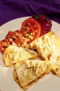 Fajita's met kaas