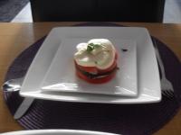 tomaten/courgette/mozzarella torentje